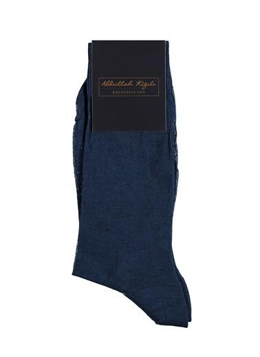 Abdullah Kiğılı Çorap Mavi